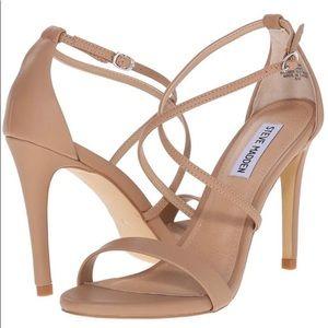 Steve Madden Feliz nude heels 6